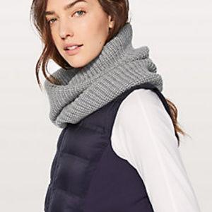NWOT Lululemon Wool Be Cozy Snood, O/S, HCMG